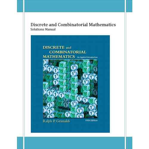 دانلود حل المسائل ریاضیات گسسته گریمالدی Grimaldi