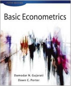 دانلود حل تمرین کتاب اقتصادسنجی گجراتی ویرایش چهارم