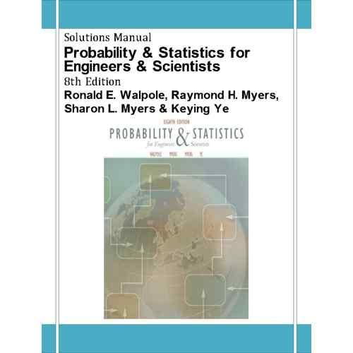 دانلود حل تمرین آمار و احتمال مهندسی والپول