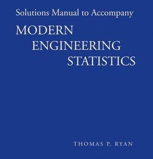 دانلود حل المسائل آمار مهندسی مدرن رایان