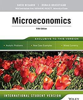 دانلود حل المسائل کتاب اقتصاد خرد دیوید بسانکو  ویرایش پنجم