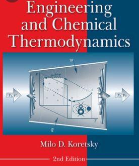 حل المسائل ترمودینامیک مهندسی و شیمیایی میلو کورتسکی KORETSKY