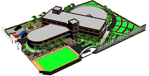 پروژه طراحی معماری خوابگاه دانشجویی