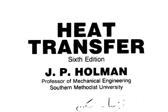 انتقال حرارت هولمن به همراه حالمسائل