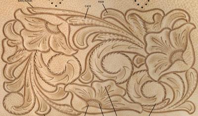 طرح های ساده و حرفه ای نقاشی بر روی چرم