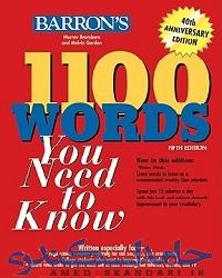 دانلود کتاب 1100 لغت بارونز