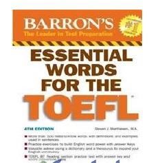 لغات ضروری تافل با ترجمه فارسی(Essential words for the Tofel)