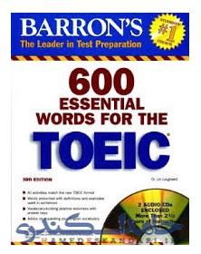 کتاب 600 لغت ضروری TEOIC