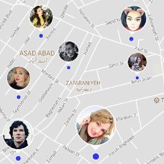 بدون GPS Chat ، تلگــرام شما ناقص است