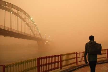 دانلود پاورپوینت پدیده ریز گردها(گرد و غبار) در ایران