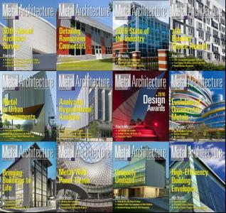 Metal Architecture - 2016 Full Year Issues Collection