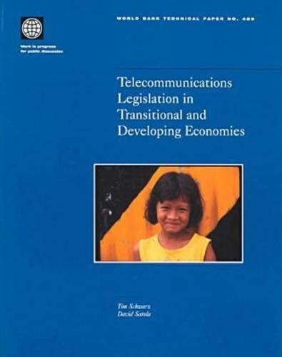 Telecommunications Legislation in Transitional and Developing Economies