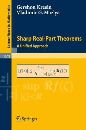 Sharp Real-Part Theorems: A Unified Approach