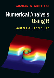 Numerical Analysis using R. Solutions to ODEs and PDEs