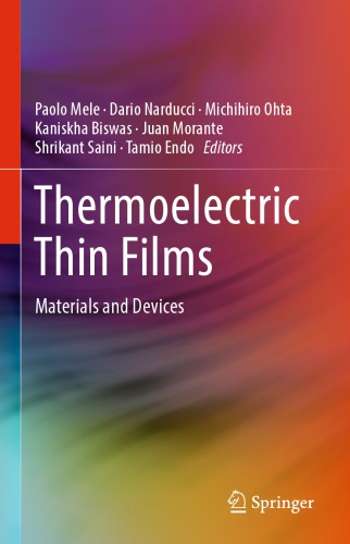 Thermoelectric Thin Films: Materials and Devices