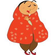 پک  آماده ساخت استیکر 14 عددی زن اصیل ایرانی