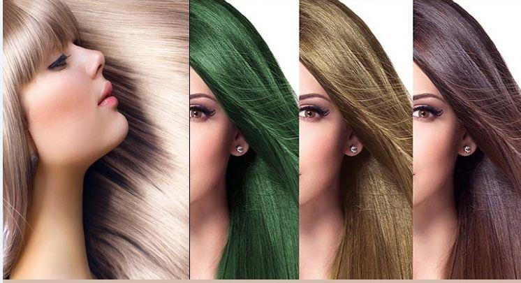 نمونه سوالات رنک کردن موی زنانه کتابچه طلایی