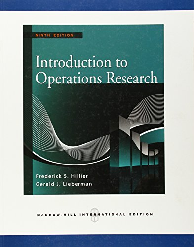 دانلود حل المسائل تحقیق در عملیات فردریک هیلیر Frederick Hillier