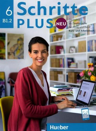 کتاب آموزش زبان آلمانی Schritte plus neu B1.2 به همراه فایل های صوتی کتاب