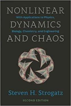 حل مسائل درس دینامیک غیر خطی و تئوری آشوب استیون اشتروگاتز به صورت PDF و به زبان انگلیسی در 403 صفحه