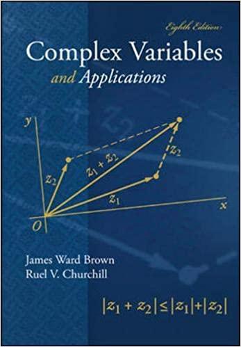 حل مسائل متغیرهای مختلط و کاربردهای آن جلد اول تالیف وارد براون و چرچیل به صورت PDF و به زبان انگلیسی در 170 صفحه