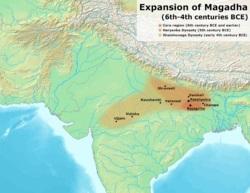 پاورپوینت کامل و جامع با عنوان بررسی امپراتوری های ماگدها، گوپتا، پالا و الیاس شاهیان در 24 اسلاید