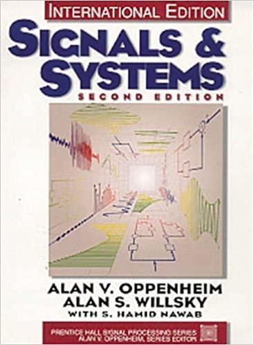 کتاب سیگنال ها و سیستم های آلن اپنهایم ویرایش دوم به صورت PDF و به زبان انگلیسی در 987 صفحه