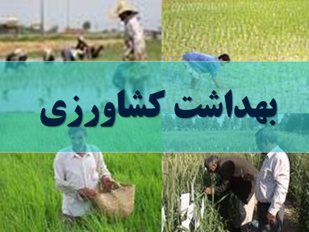 دانلود پاورپوینت بهداشت کشاورزی