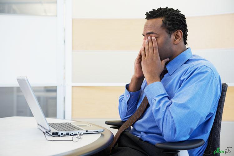 دانلود پاورپوینت بیماریهای چشمی ناشی از کار