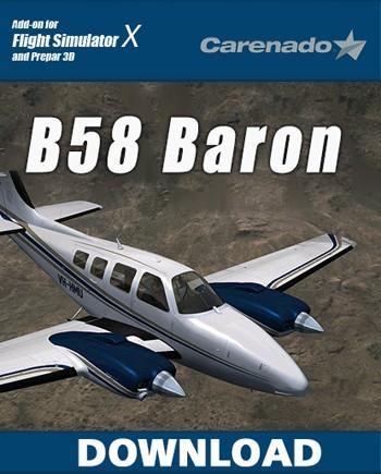 Carenado - B58 Baron