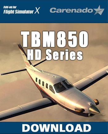 TBM850 Carenado
