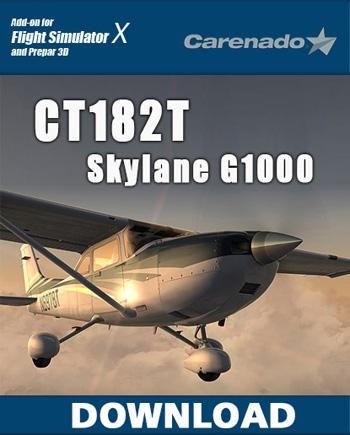 Carenado CT182T SKYLANE G1000 HD SERIES