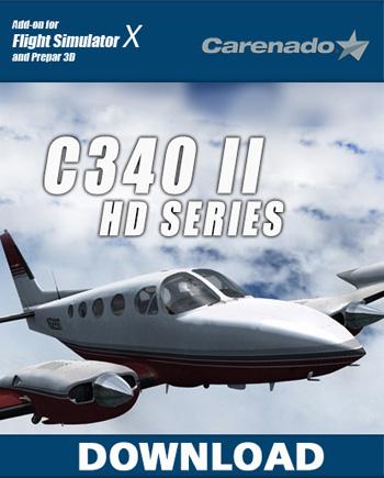 Carenado C340 II