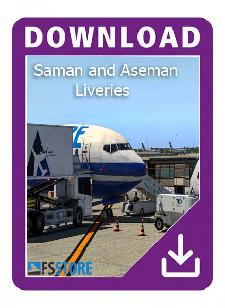 لیوری خدمات فرودگاهی سامان و آسمان Xplane