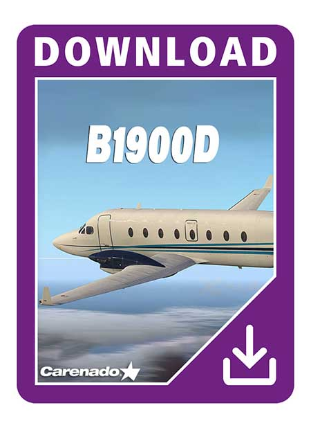 Carenado - B1900D