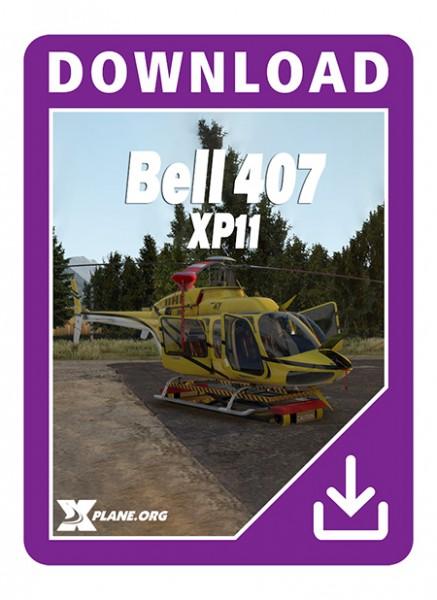 Bell 407 XP11