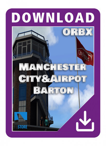 EGCB Manchester City Airport and Heliport (Barton)