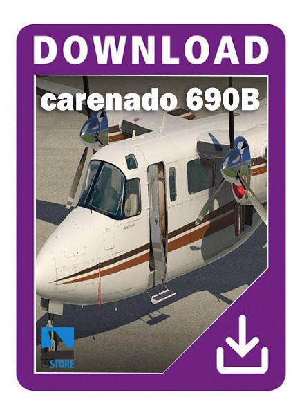 carenado 690B Turbo Commander