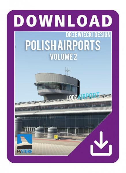 Drzewiecki-Polish Airports Volume 2
