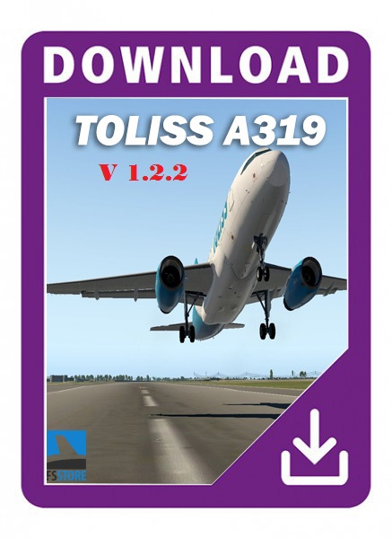 Airbus A319 by Toliss v1.2.2