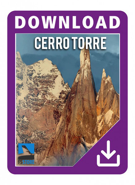 Cerro Torre Los Glaciares 3D National Park