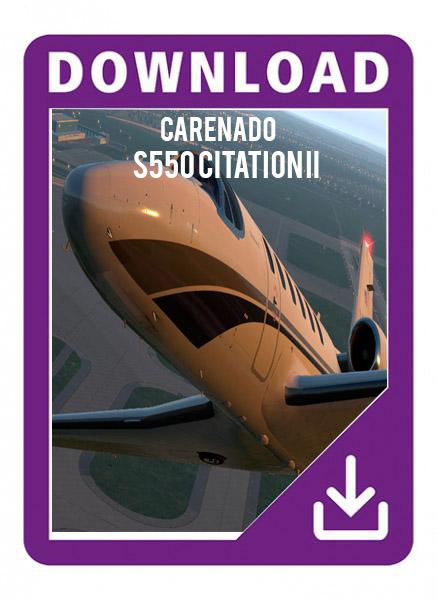 Carenado S550 Citation II