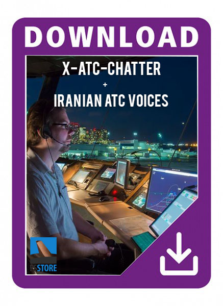 X-ATC chatter + Iran ATC voice