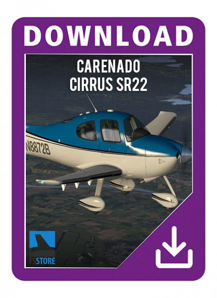 Carenado cirrus SR22 GTSX TURBO HD SERIES