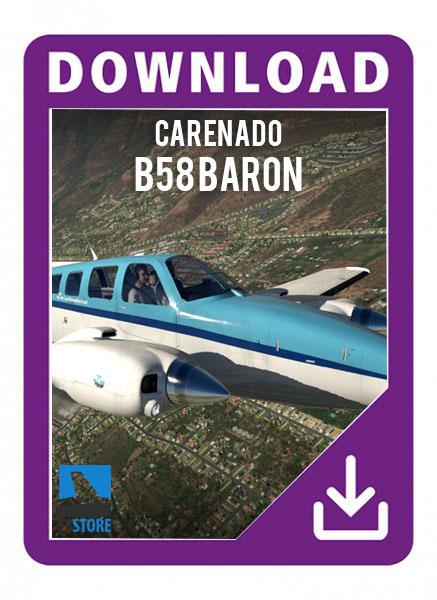 Carenado B58 BARON