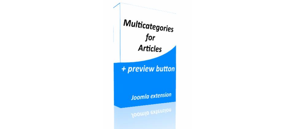 نمایش یک مطلب در چند مجموعه برای جوملا CW Multicategories 3.7.1.1