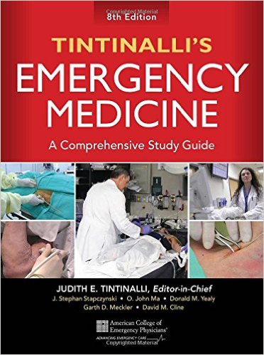 کتاب پزشکی Tintinalli's Emergency Medicine: A Comprehensive Study Guide, 8th edition