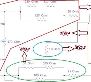 برنامه نویسی مقاومت الکتریکی معادل به زبان C++