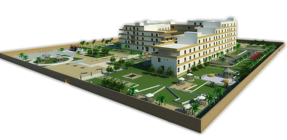 پروژه معماری هتل (مجتمع اقامتی-تفریحی)