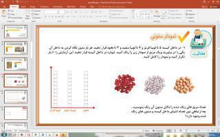 پاورپوینت فصل 8 ریاضی دوم دبستان (ابتدایی): آمار و نمودار